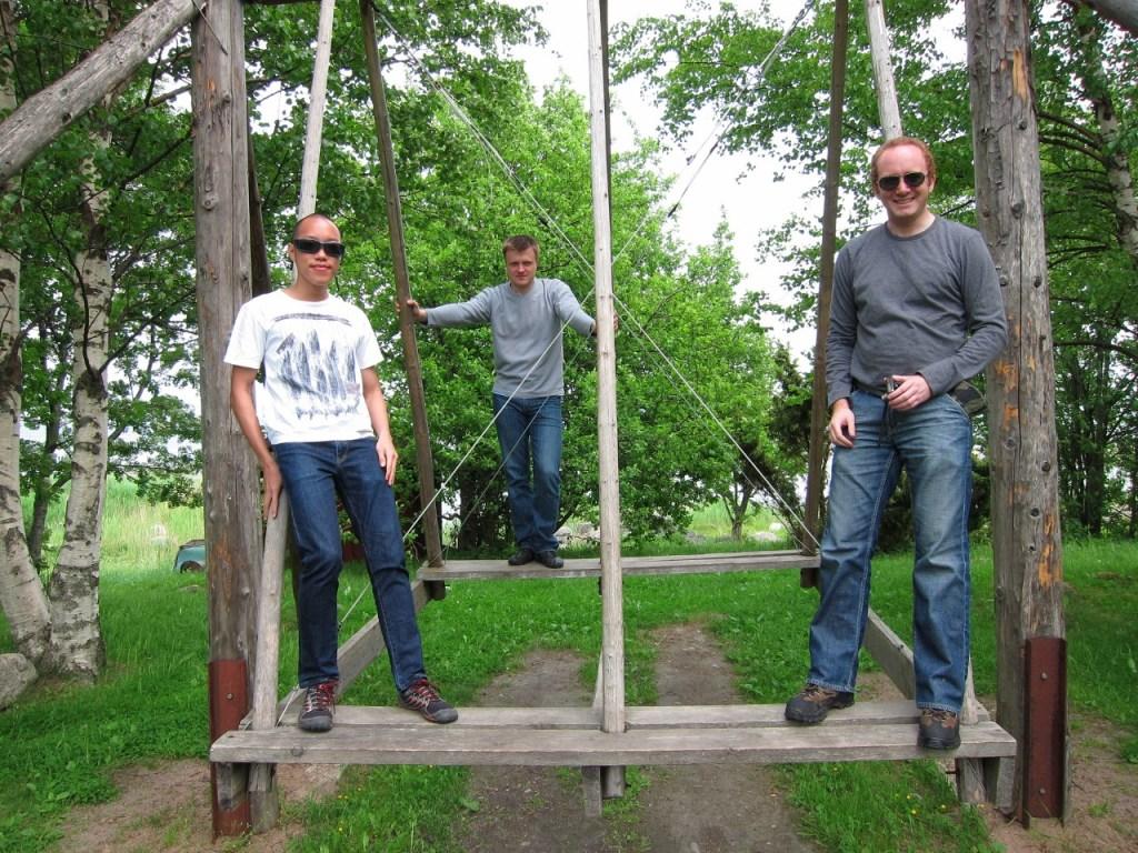 Estonian swing