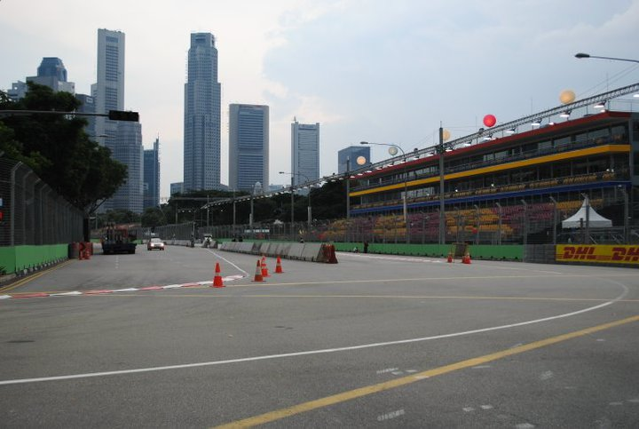A Lap of the Singapore Grand Prix on Foot 2