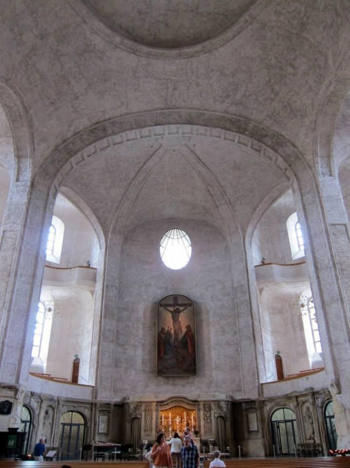 Kreuzkirche altar and balconies