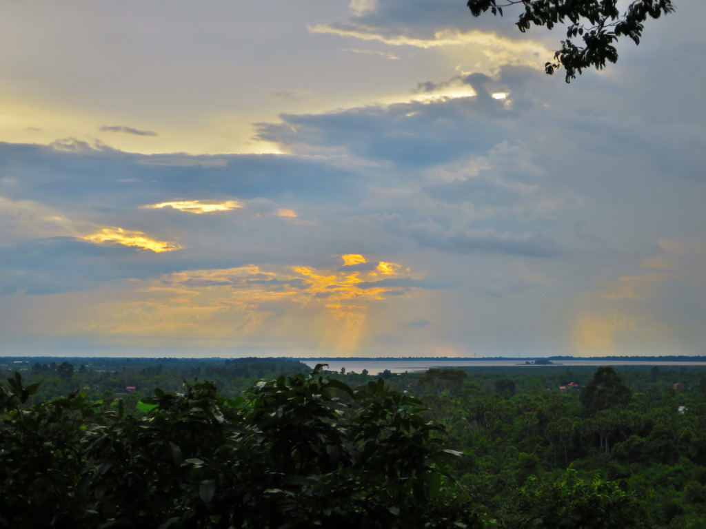 Sunset over West Baray