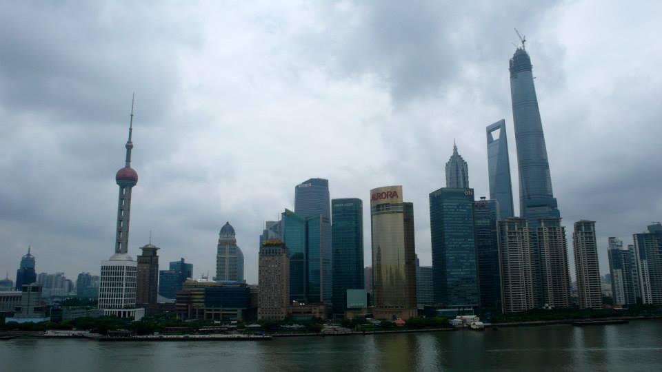 Shanghai Bund Pudong
