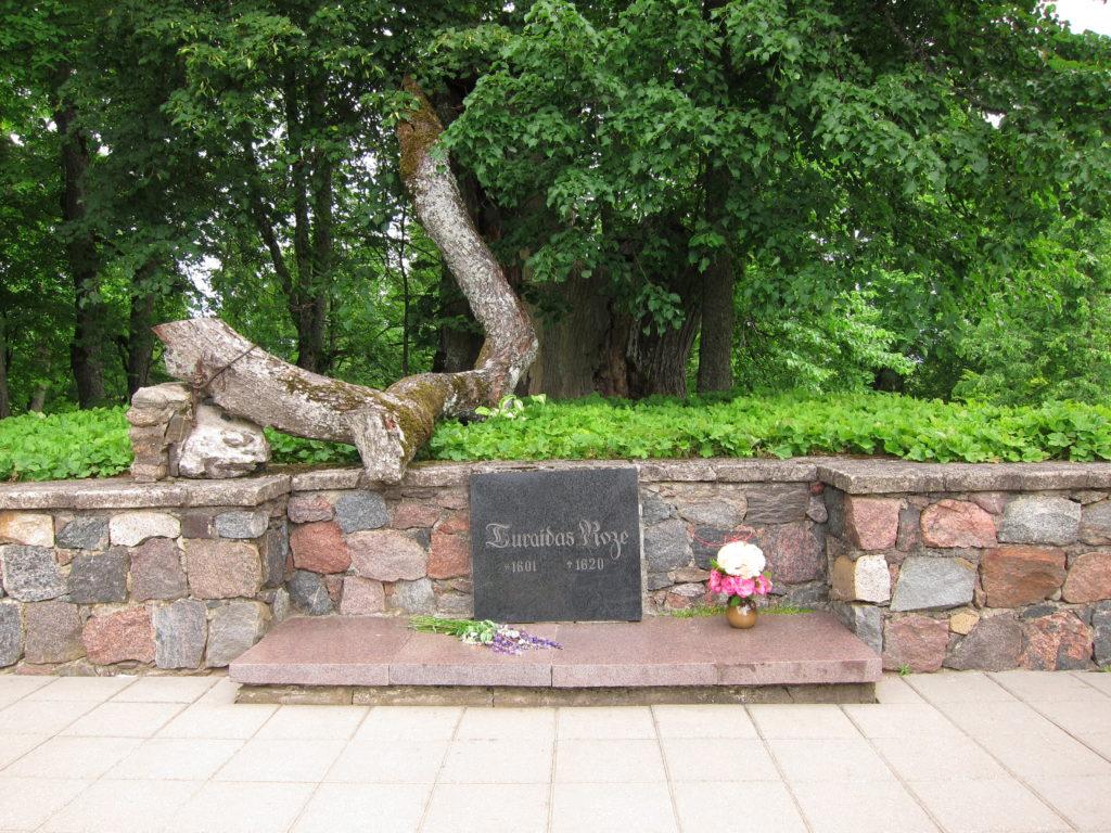 Rose of Turaida grave