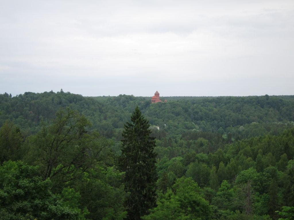 Sigulda view of Turaida