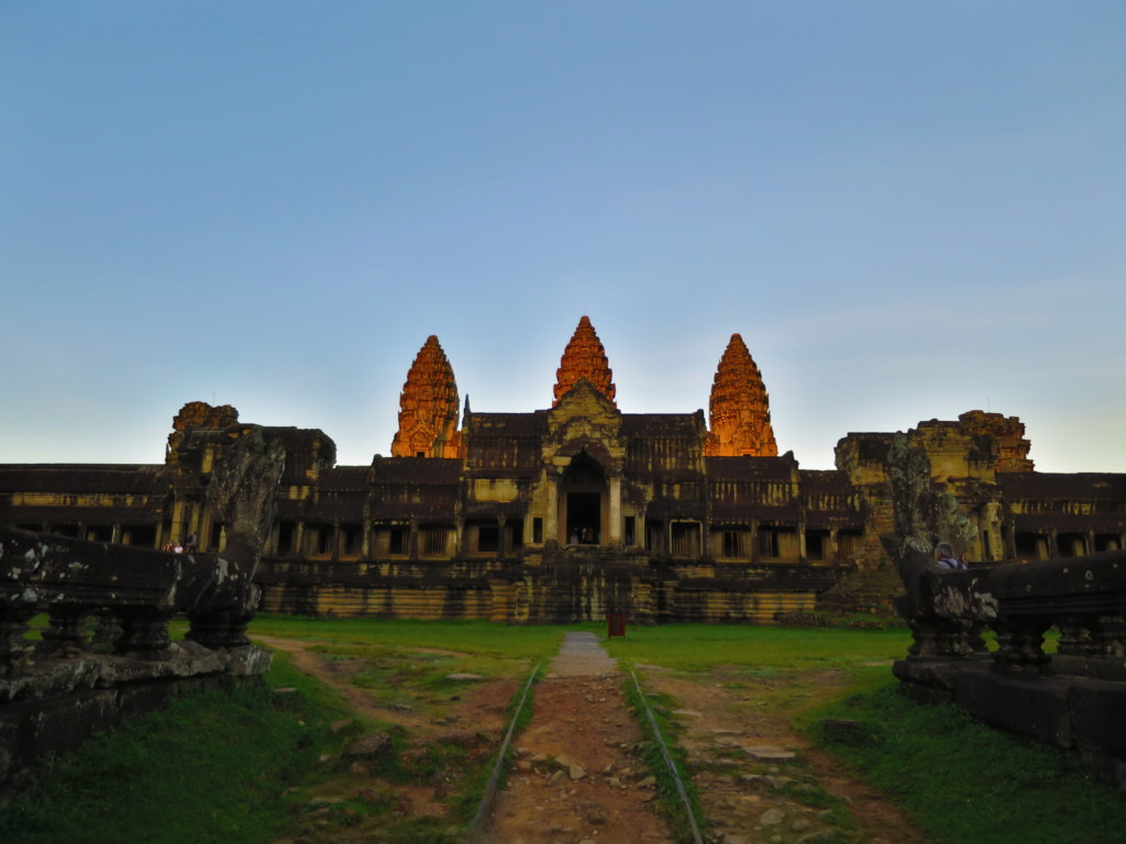 Angkor Wat sunrise from the east