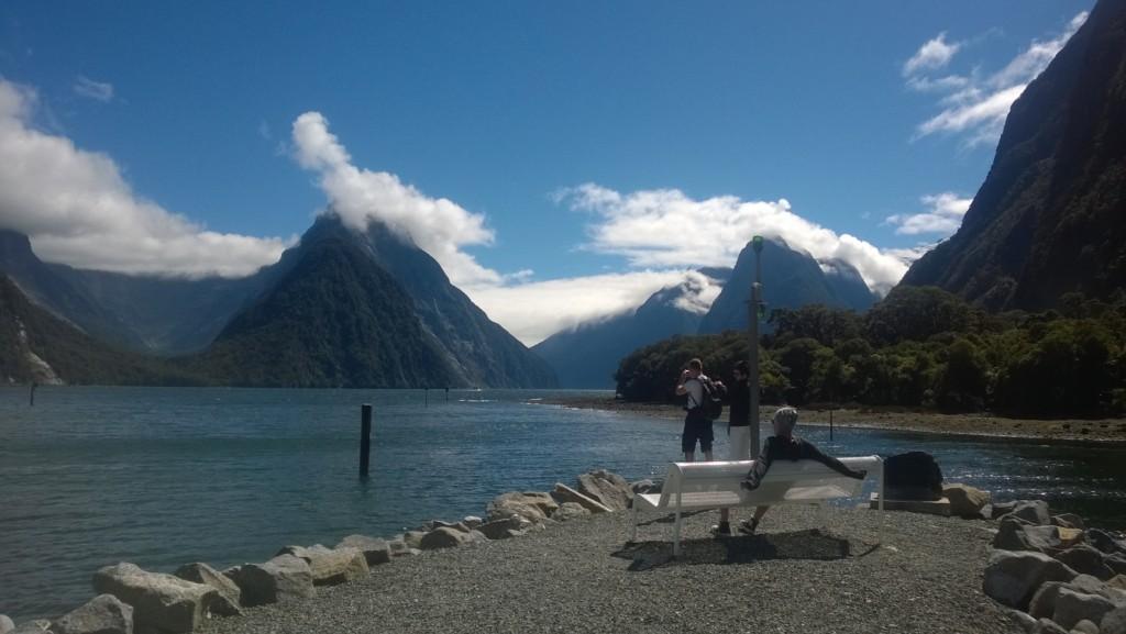 The Best Place to be in Milford Sound isn't on a Boat 1