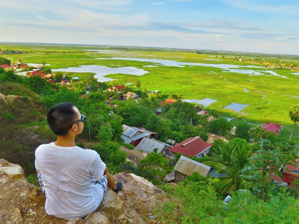 A Quiet Sunset Over Phnom Krom 2