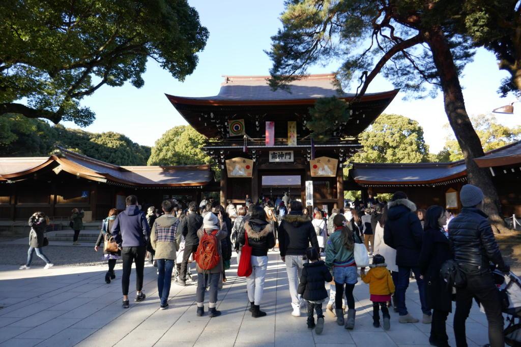 Meiji shrine Tokyo