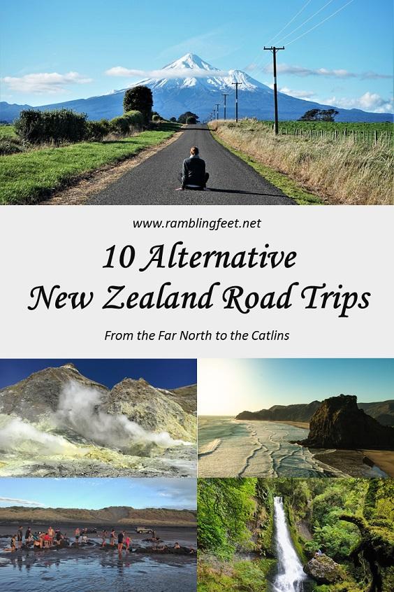 Alternative NZ Road Trips Pin