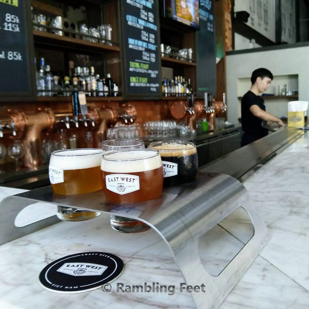 saigon craft breweries east west