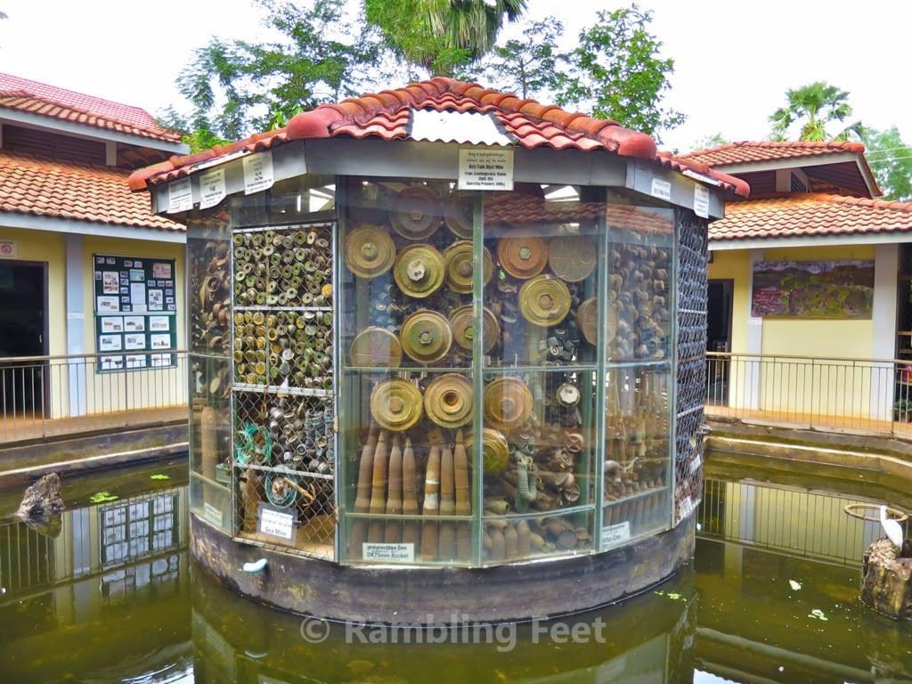 Cambodian Land Mine Museum Banteay Srei